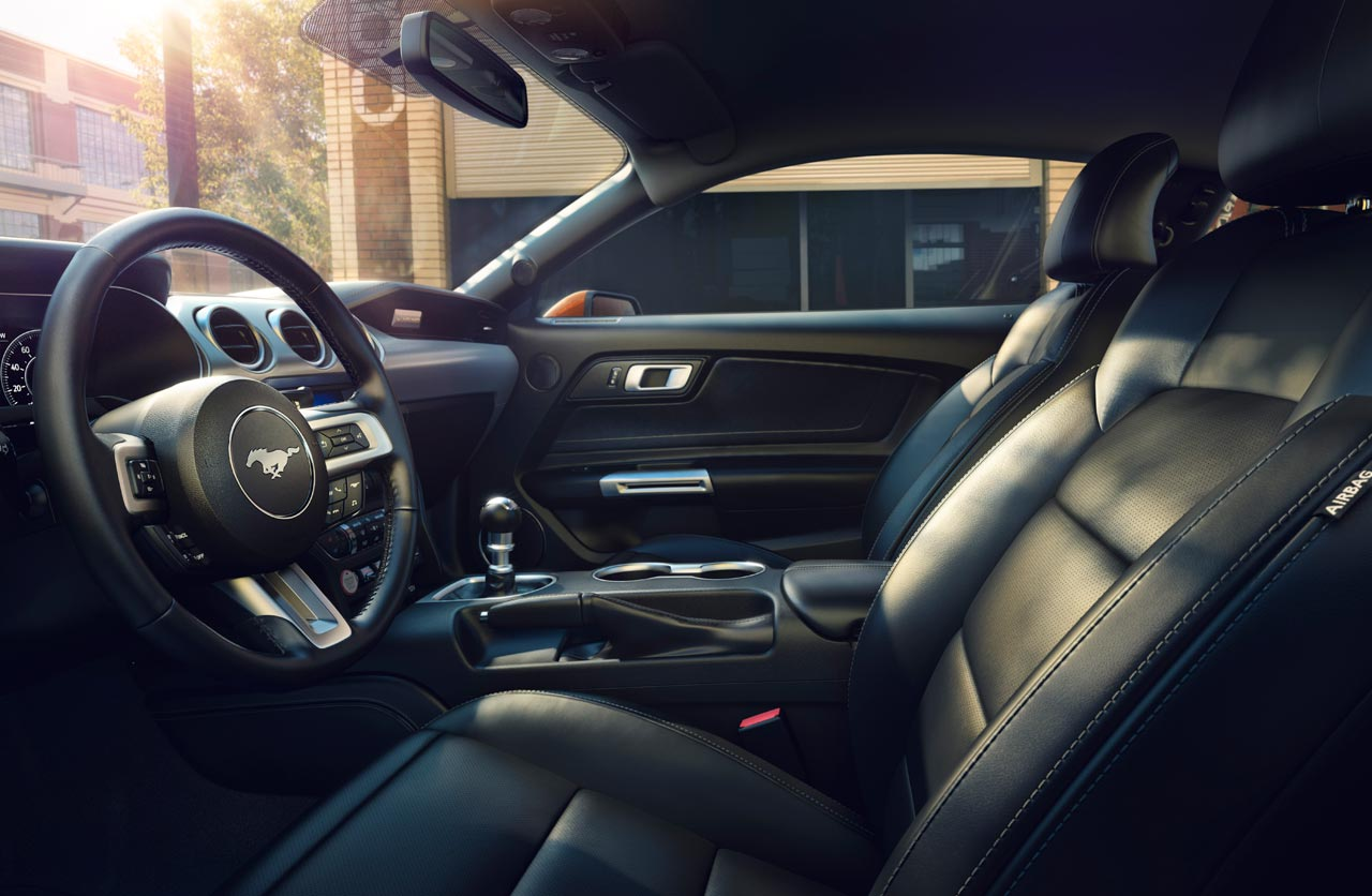 Interior Ford Mustang 2018
