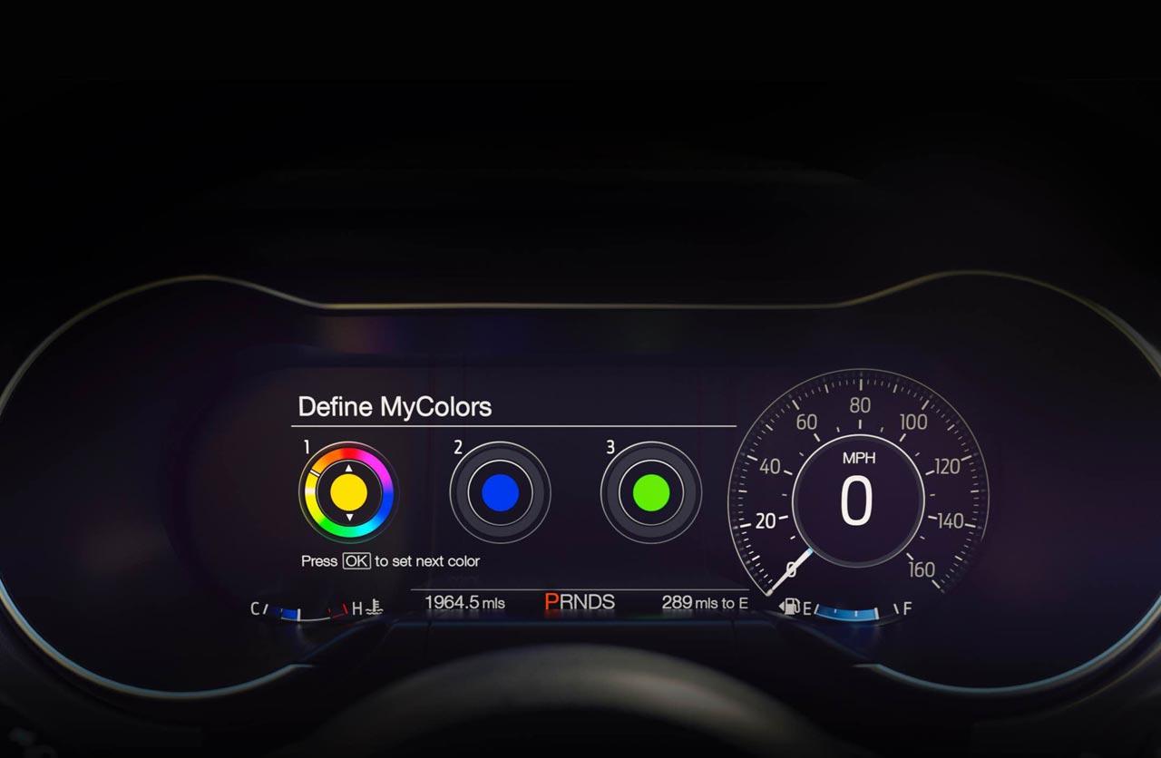 Tablero digital Nuevo Ford Mustang