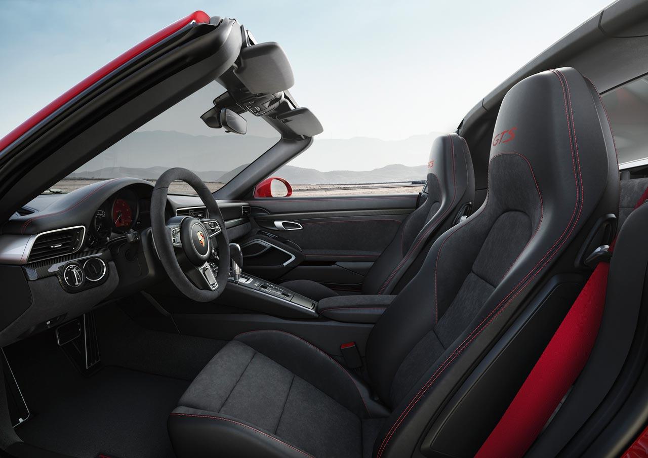 Interior Porsche 911 GTS