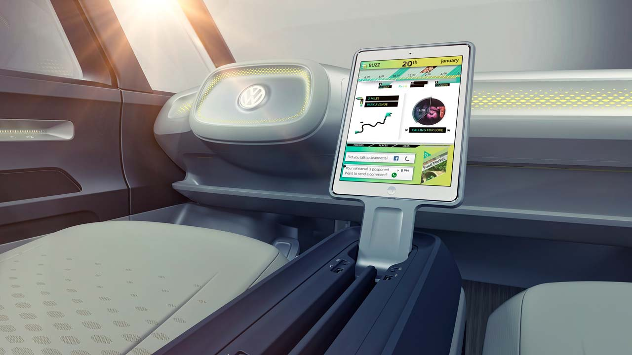 Interior VW ID Buzz Kombi