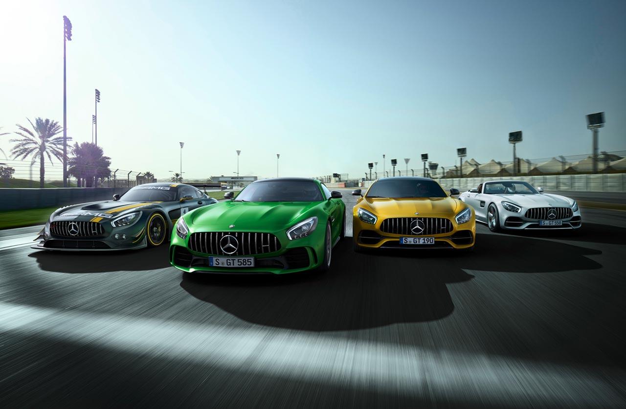 familia Mercedes-AMG