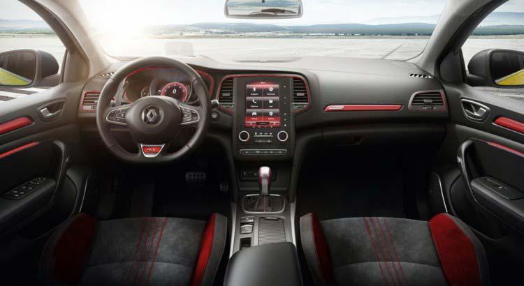 Interior Renault Mégane IV RS