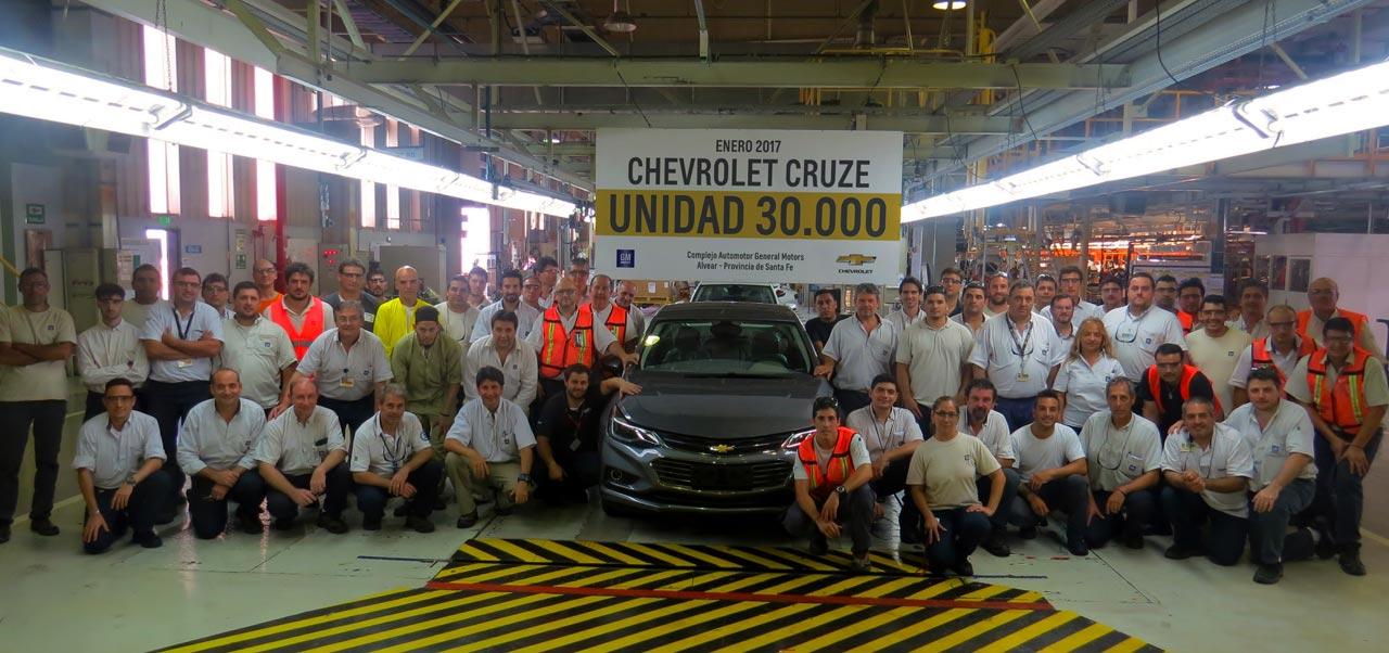 Chevrolet Cruze 30.000 Alvear