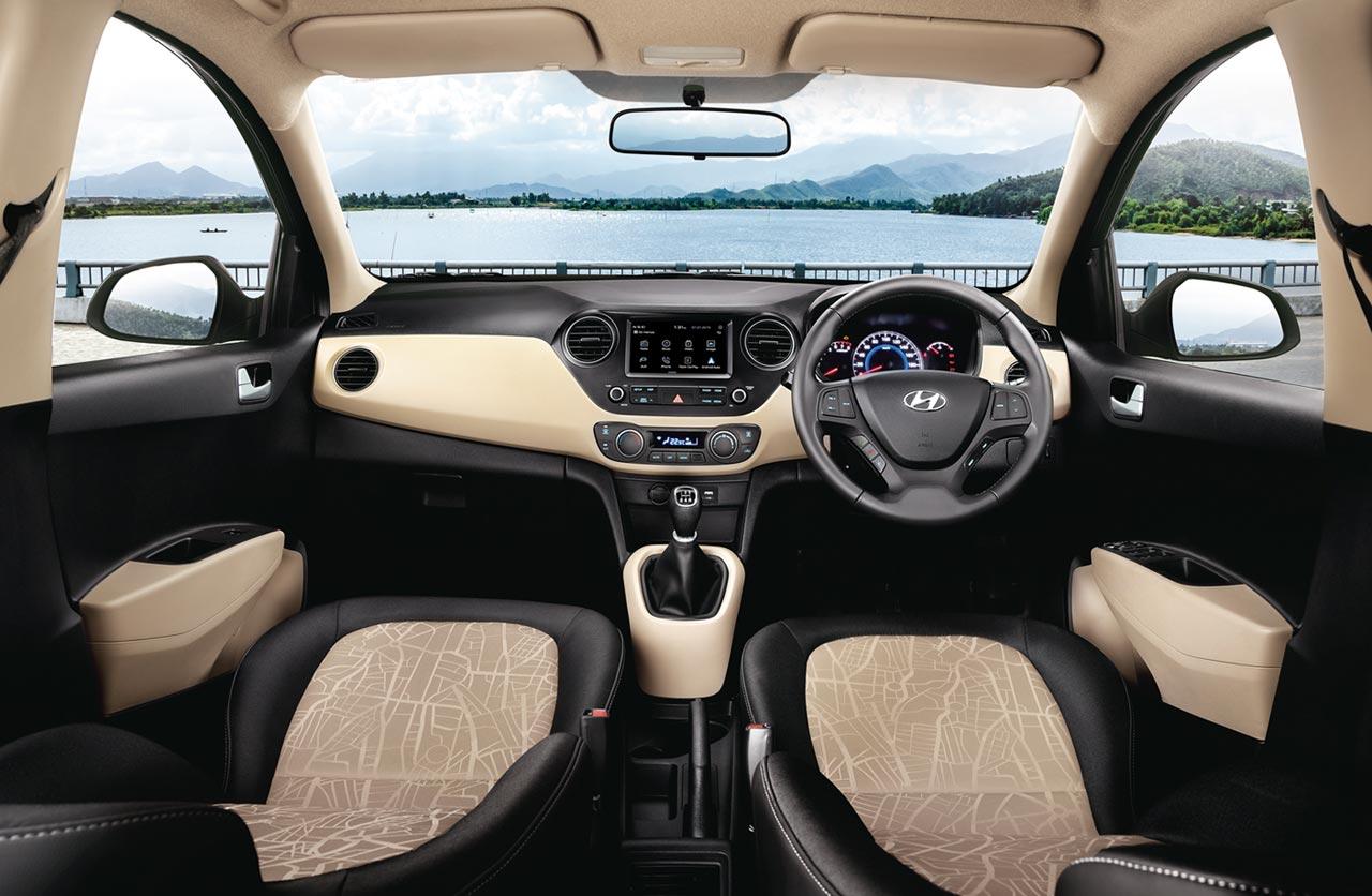 Interior Hyundai Grand i10 2017