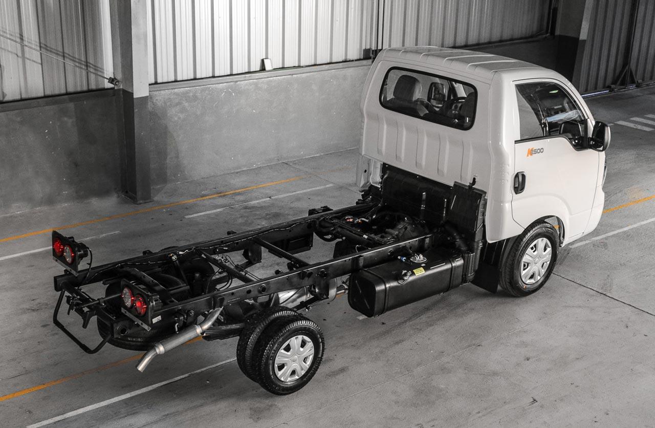 Kia K2500 Chasis