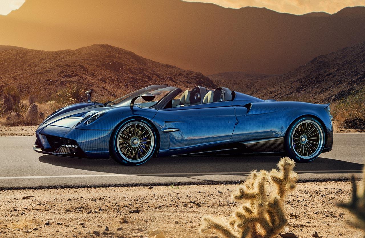 Así es el Huayra Roadster, lo último dePagani