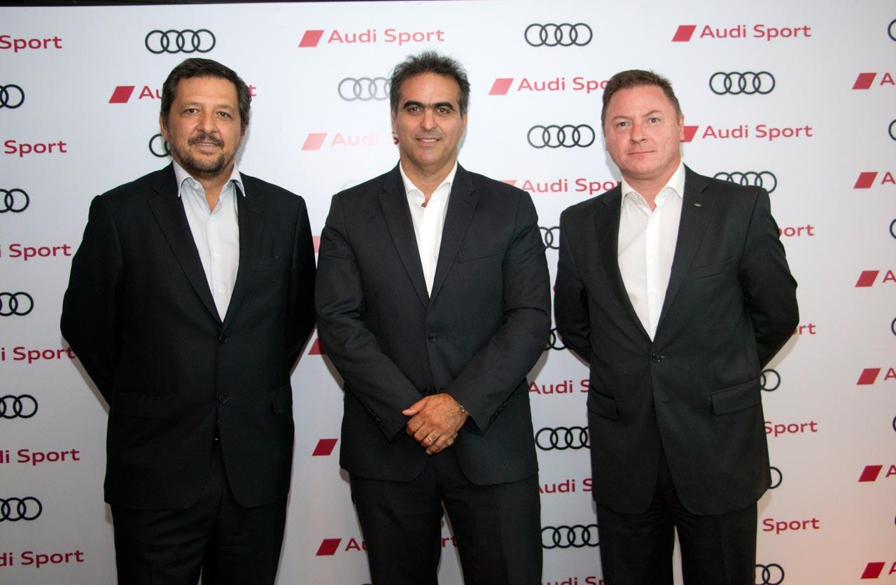 Hernán Vazquez, Pablo Di Si y Conrado Wittstatt