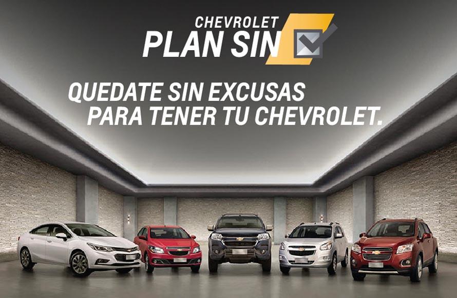 """Chevrolet """"Plan SIN"""": alternativas para llegar al 0km"""