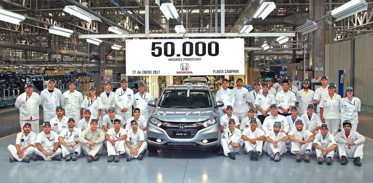 Honda Argentina 50.000 unidades producidas