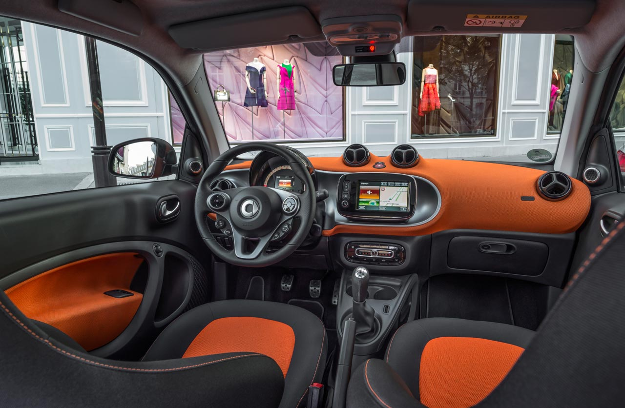 Interior smart fortwo