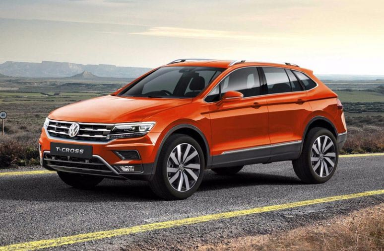 Anticipan el inédito SUV chico de VW