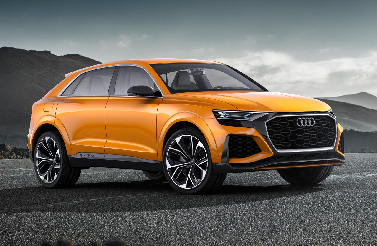 Audi Q8 sport concept: anticipando el futuro