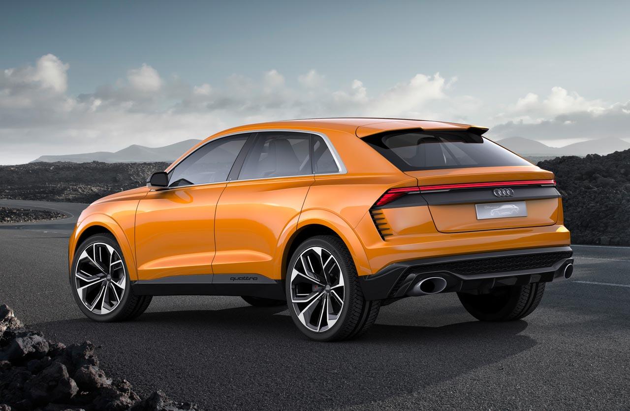 Audi Q8 sport concept: anticipando el futuro - Mega Autos