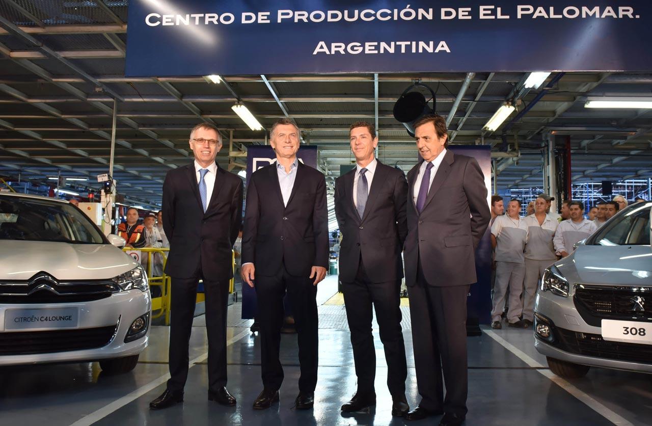 Carlos Tavares, Mauricio Macri, Carlos Gomes, Luis Ureta Saenz Peña