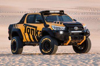 Una Toyota Hilux bestial suelta en Australia
