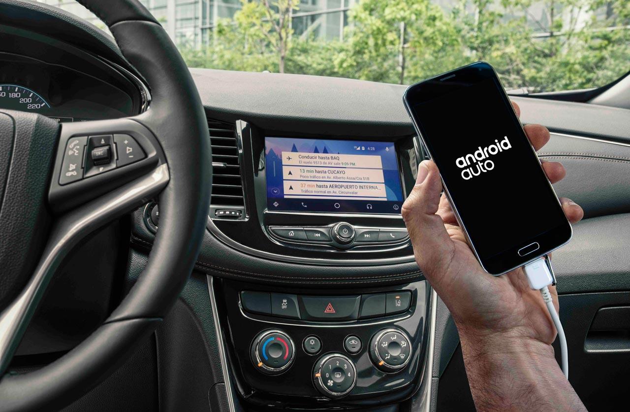 Android Auto Nueva Chevrolet Tracker