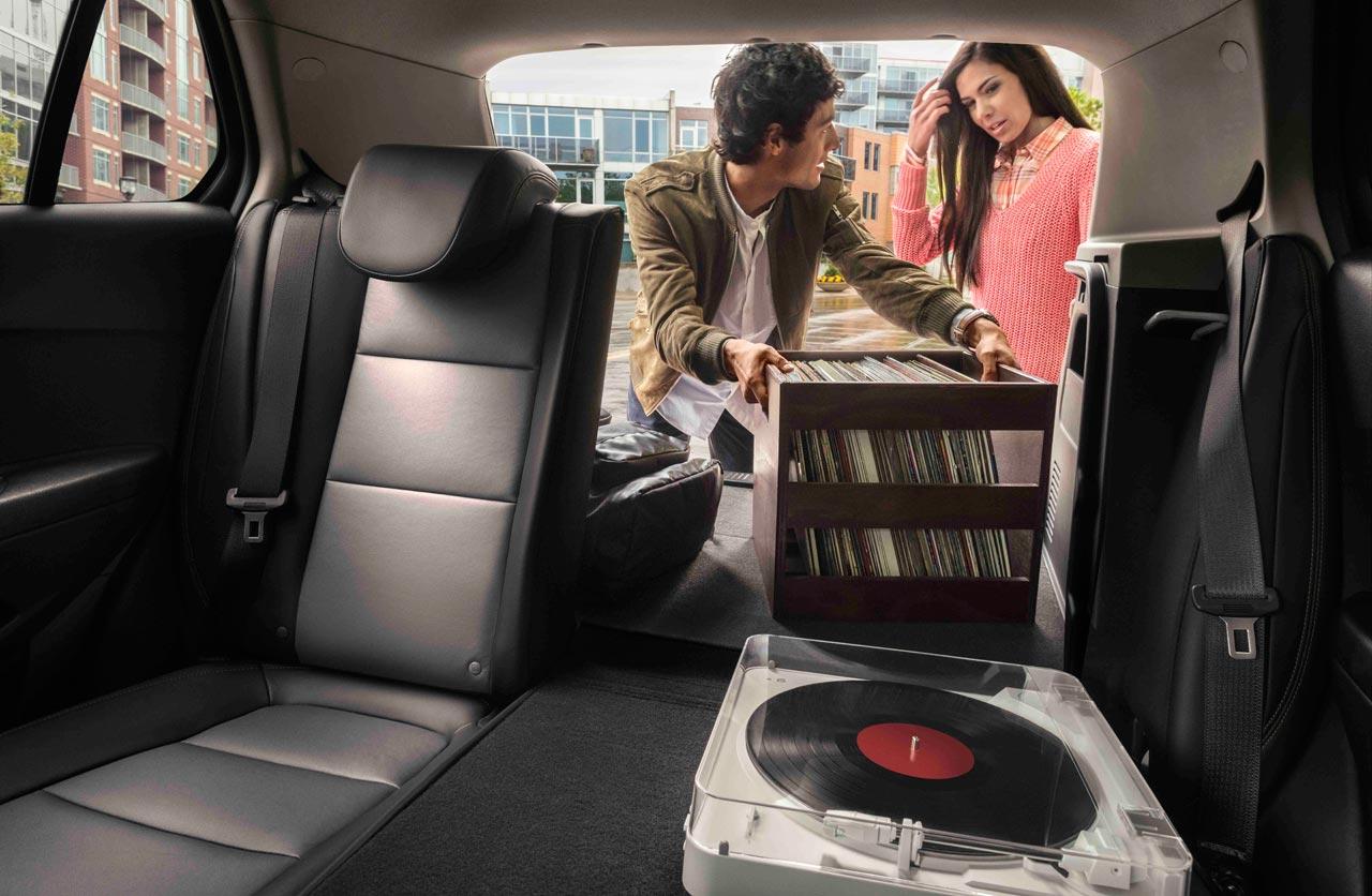 Carga Nueva Chevrolet Tracker