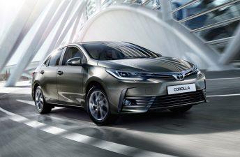 El Nuevo Toyota Corolla debutará este mes (en Brasil)