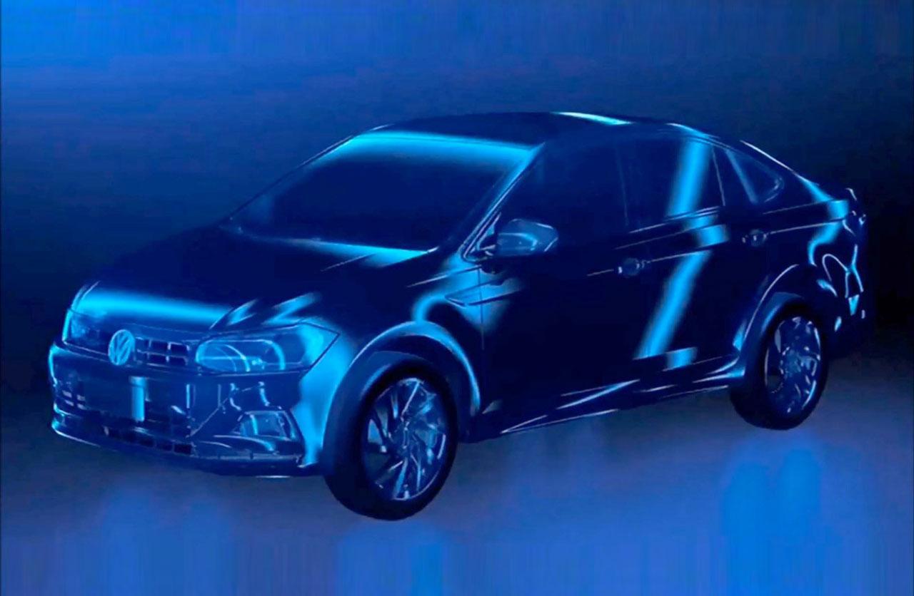 VW Virtus: el reemplazo del Polo y el Voyage ya rueda en Brasil
