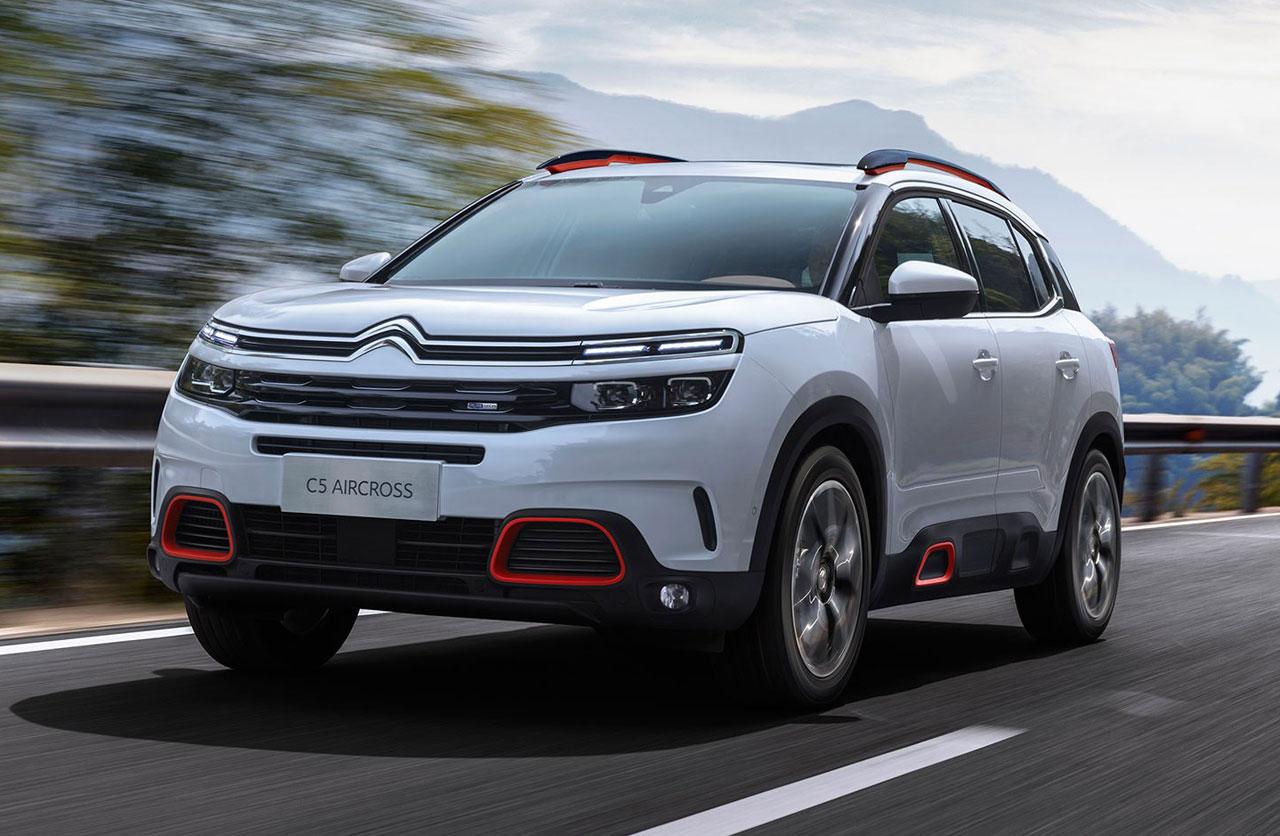 C5 Aircross, el nuevo SUV de Citroën
