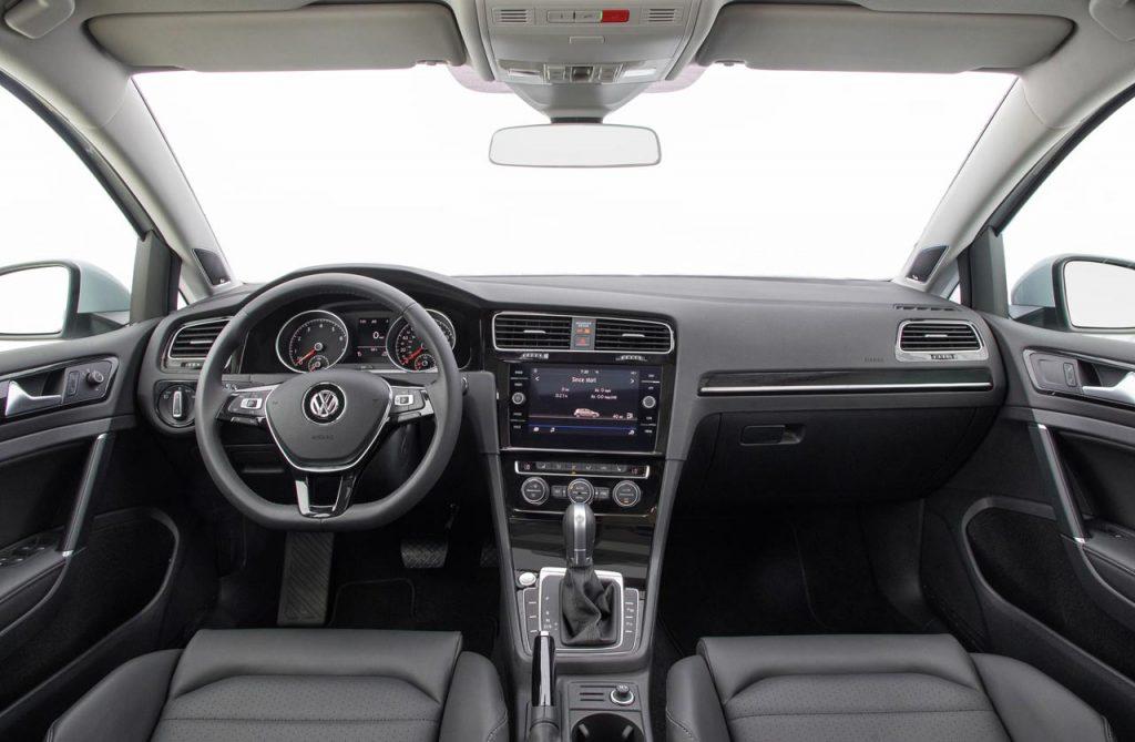 Interior VW Golf 2018