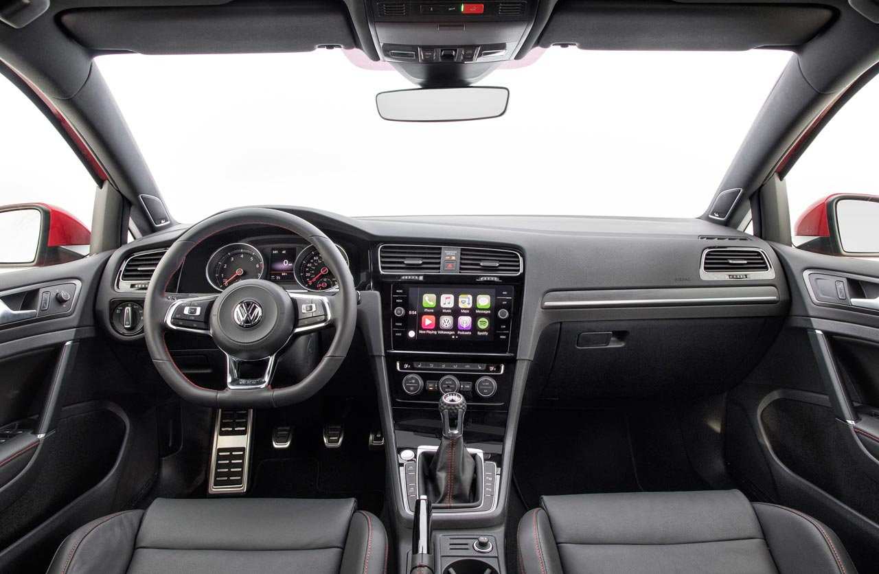Interior VW Golf GTI 2018
