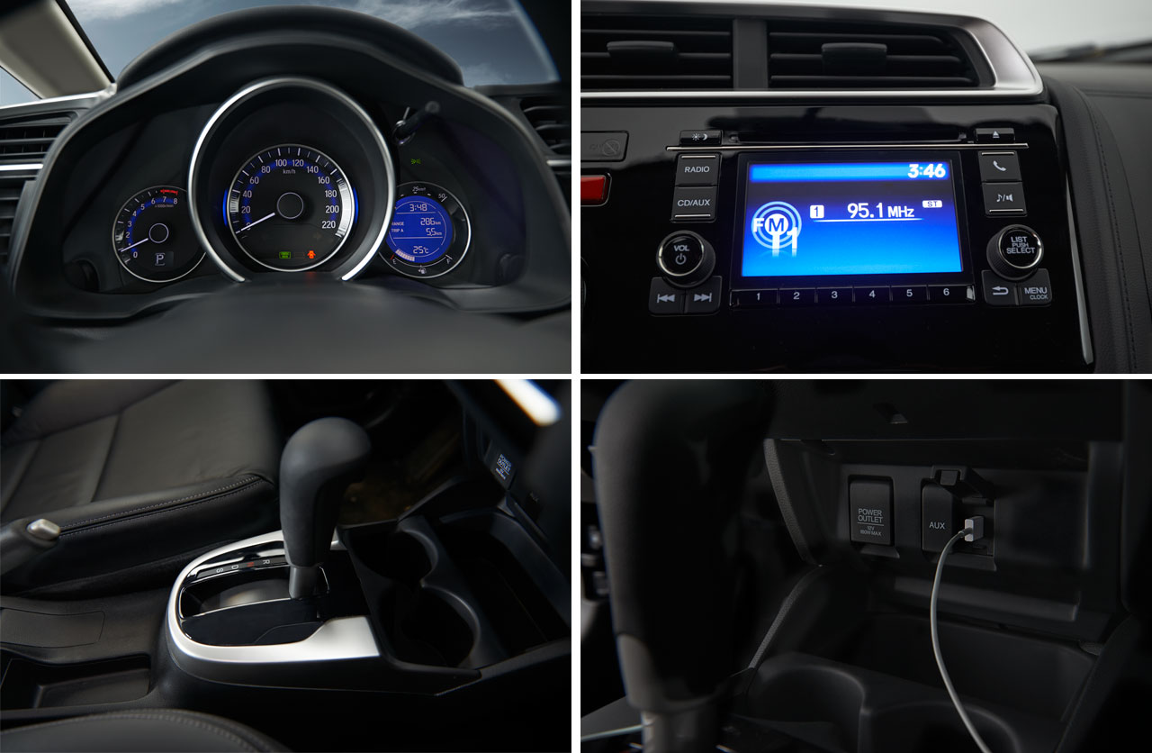 Interior Nuevo Honda Fit