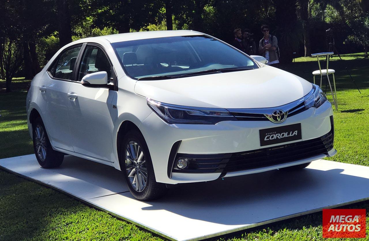 Pick Up Hyundai 2017 >> El Toyota Corolla 2017 llegó al mercado argentino - Mega Autos