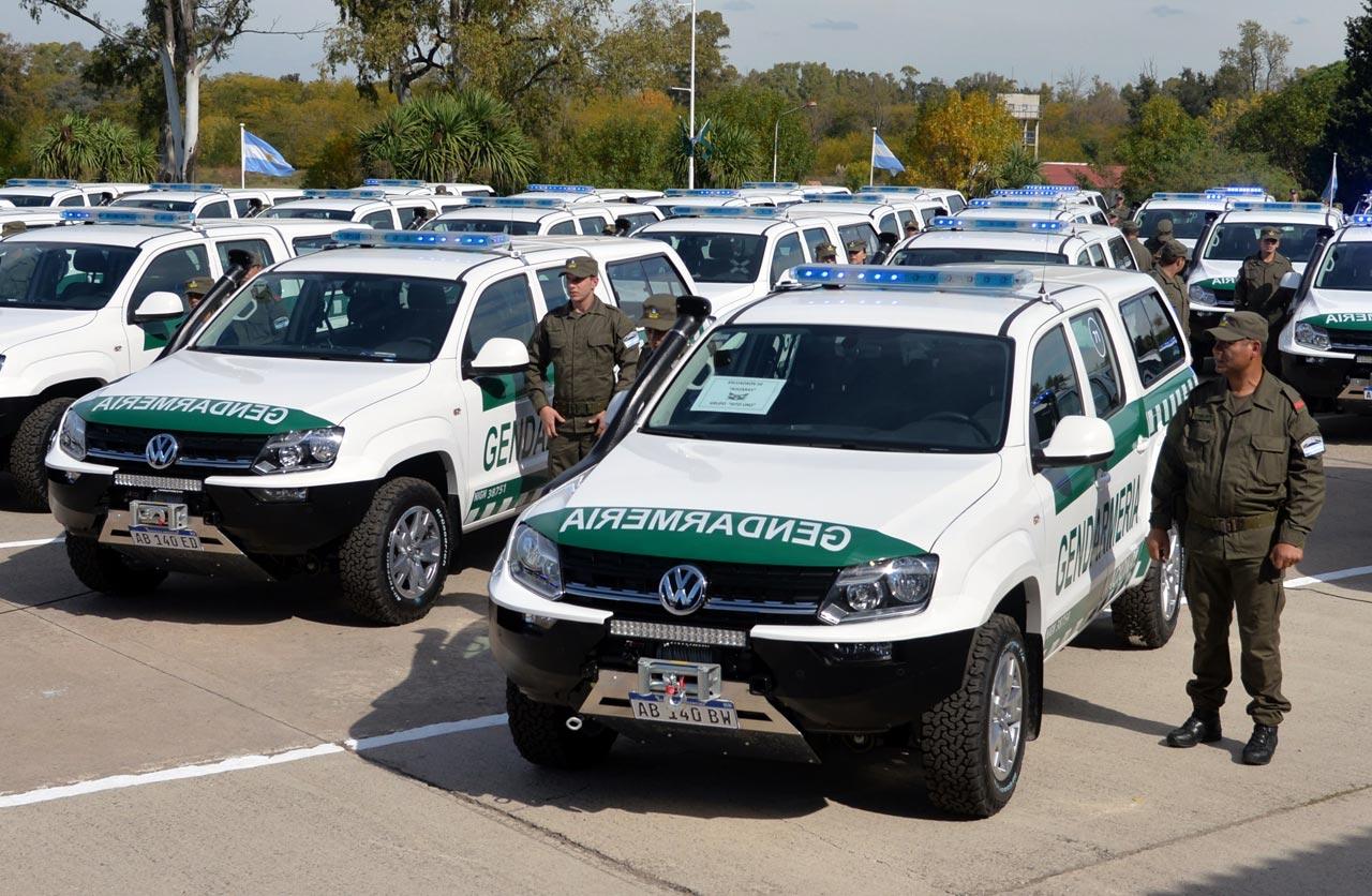 VW Amarok Gendarmería Nacional