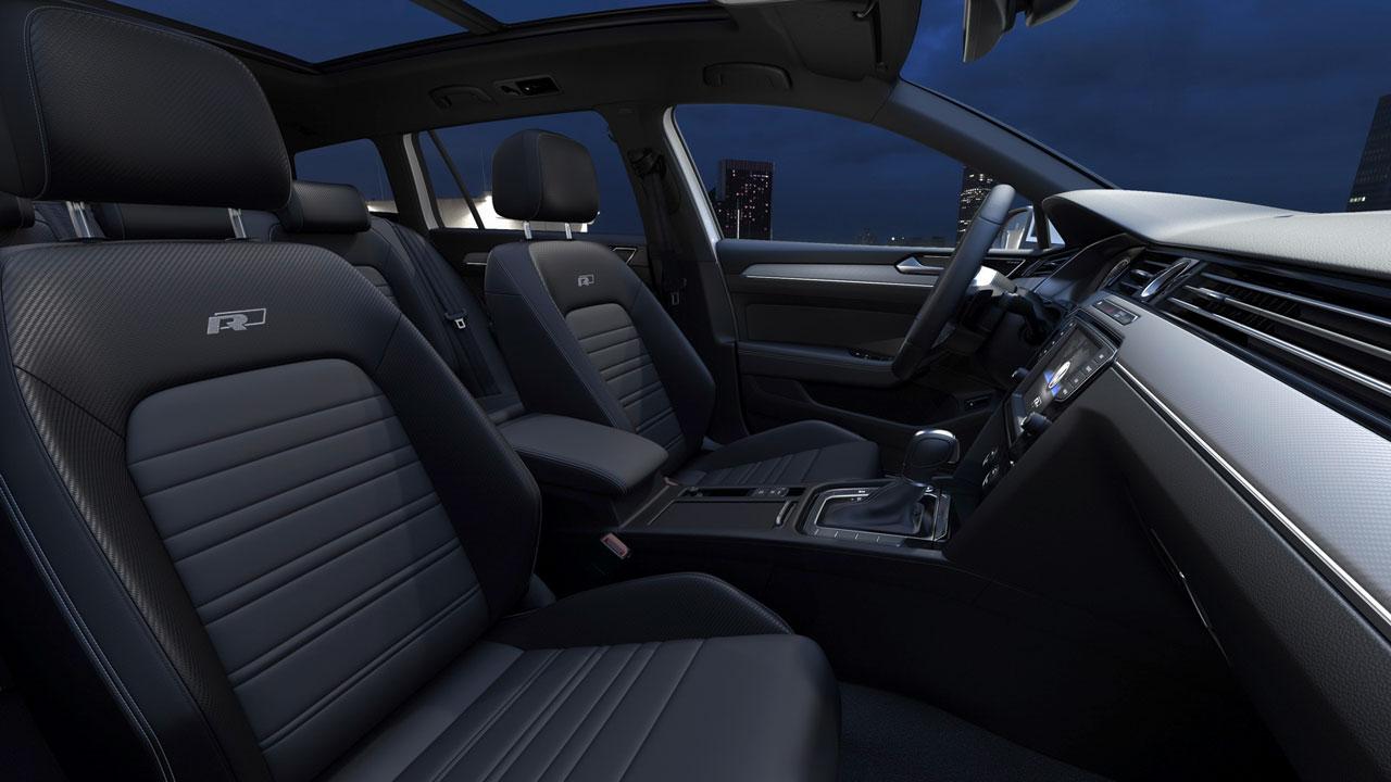 Interior VW Passat R-Line