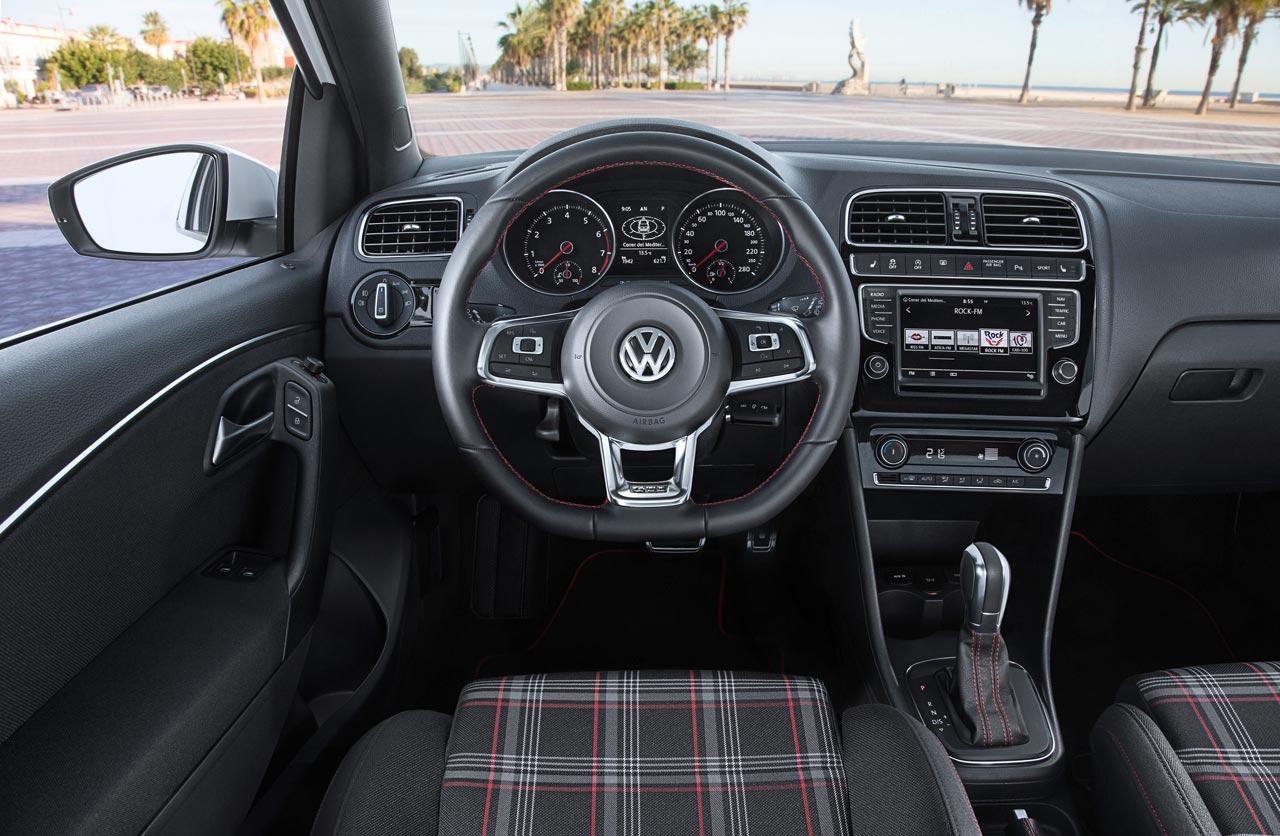 Interior VW Polo GTI