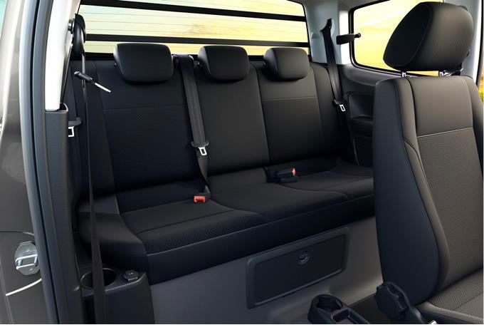 Interior Volkswagen Saveiro Robust