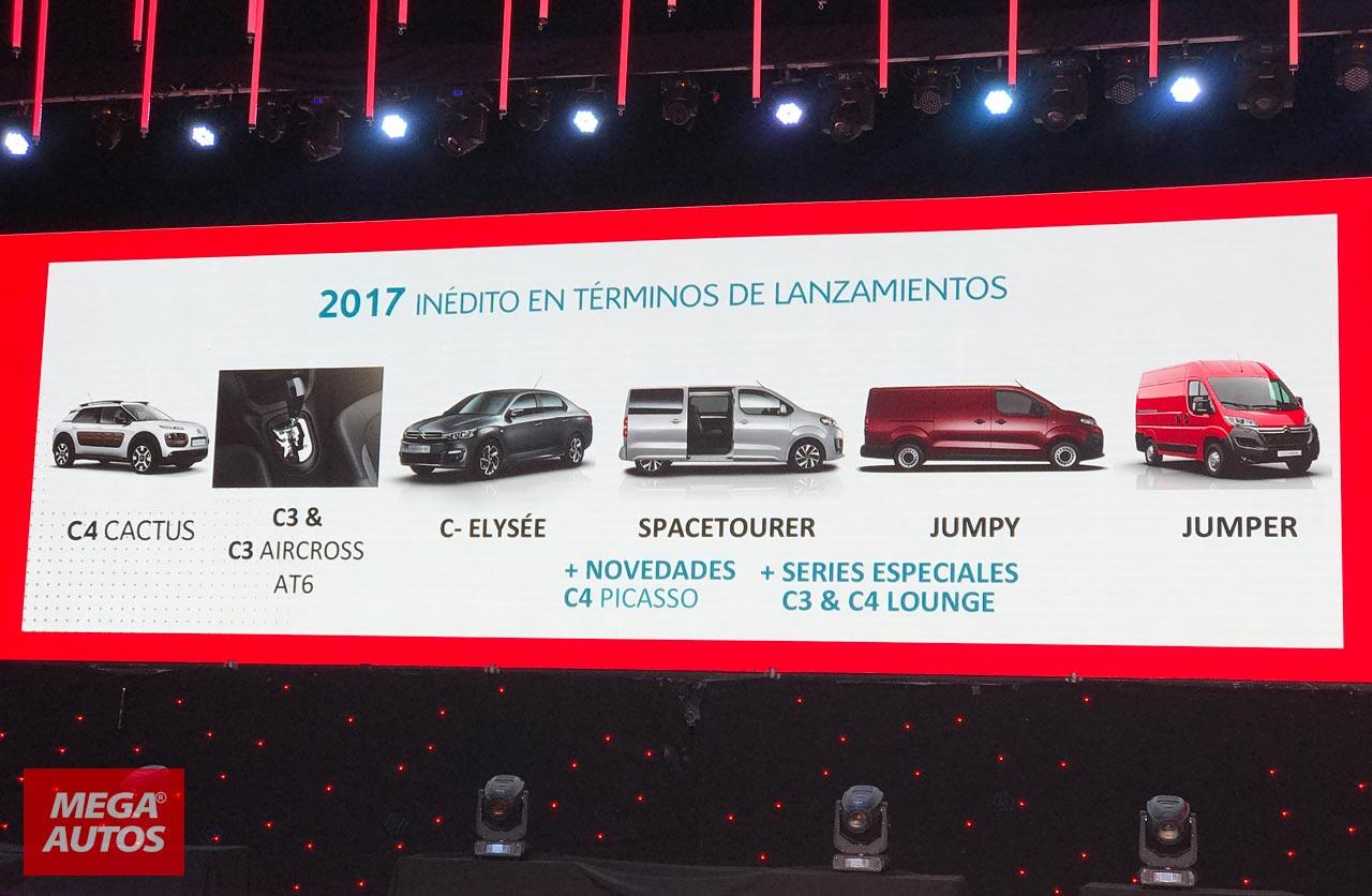 Lanzamientos Citroën 2017