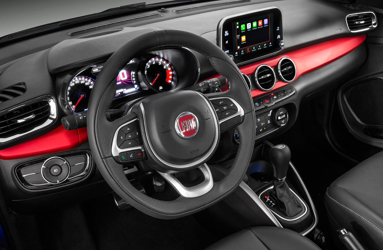 Interior Fiat Argo HGT