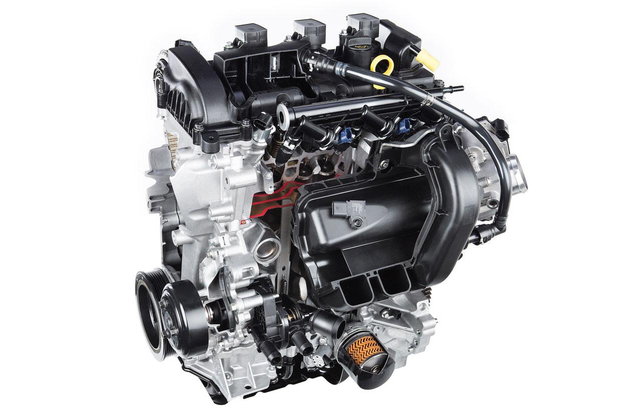 Ford presentó un motor naftero 1.5 de tres cilindros