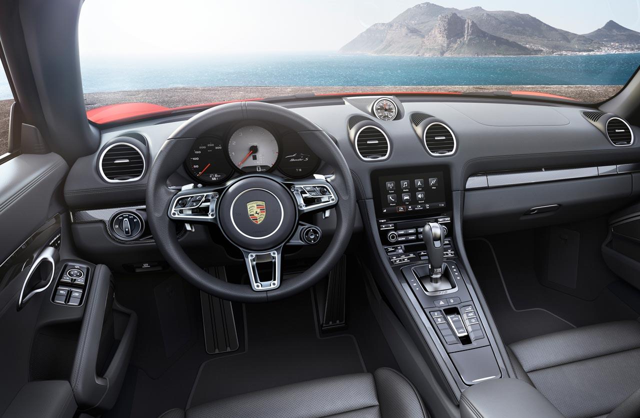 Interior Porsche 718 Boxster S
