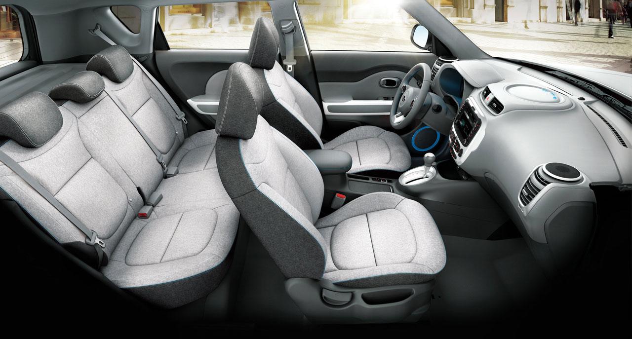 Interior Kia Soul EV - eléctrico