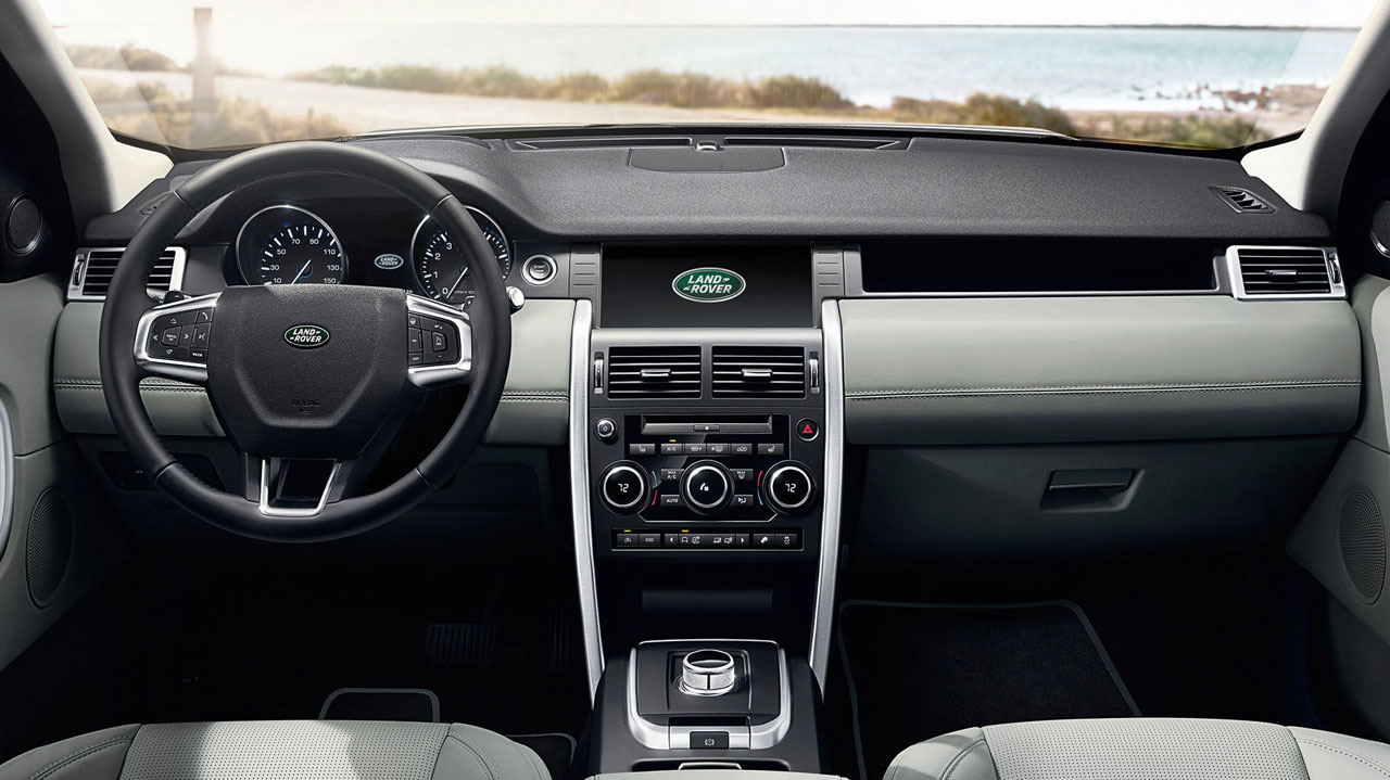 Interior Land Rover Discovery Sport