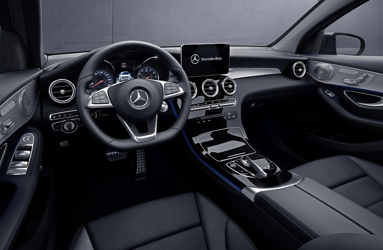 Interior Mercedes-Benz GLC Coupé