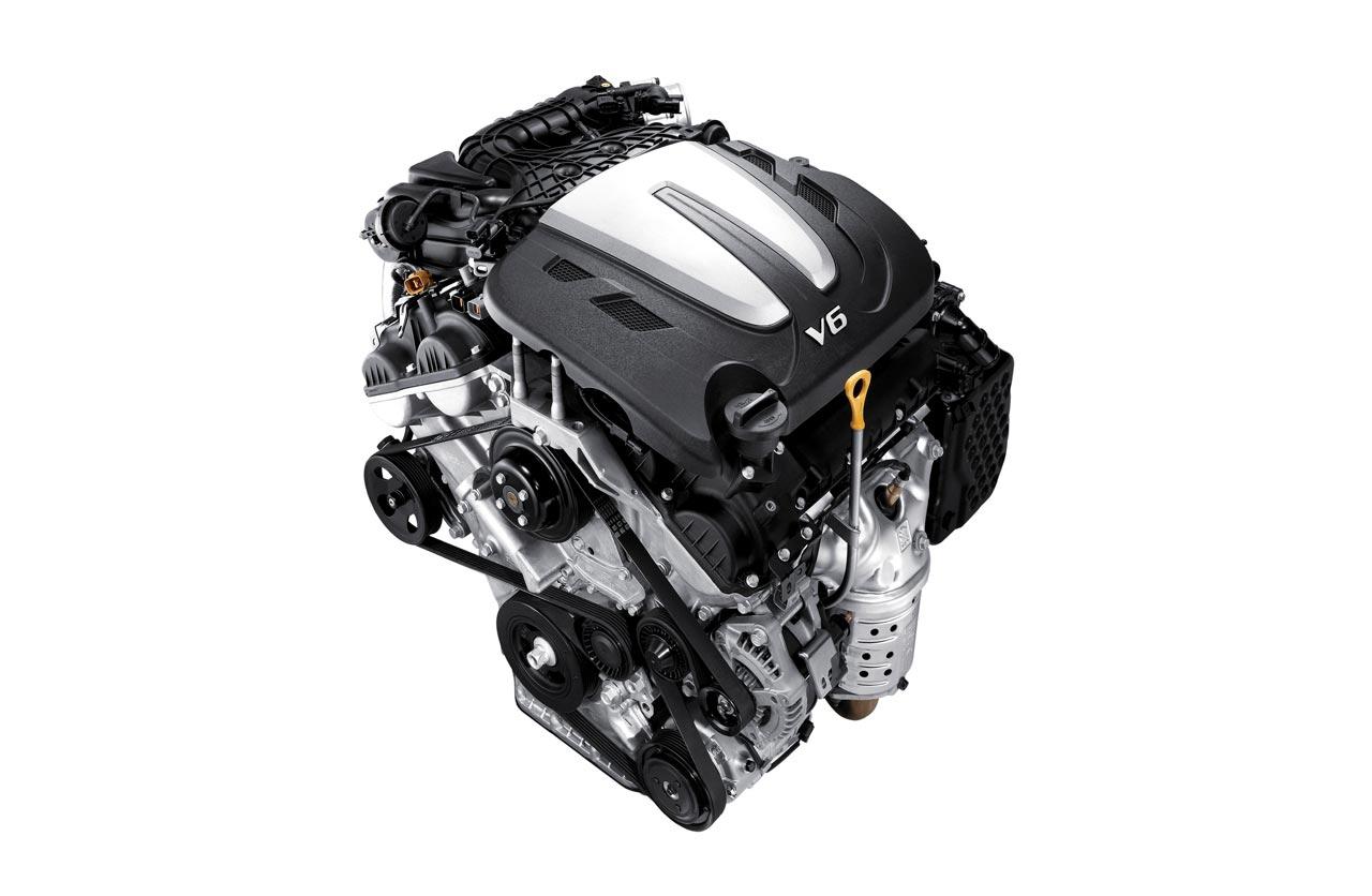 Motor V6 Hyundai Grand Santa Fe