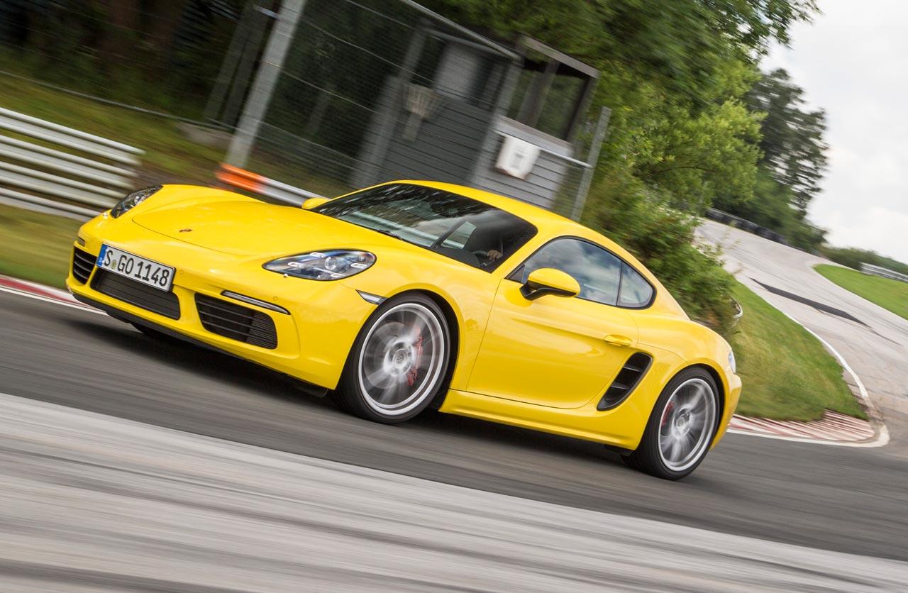 Llegaron Los Nuevos Porsche 718 Boxster Y Cayman Mega Autos