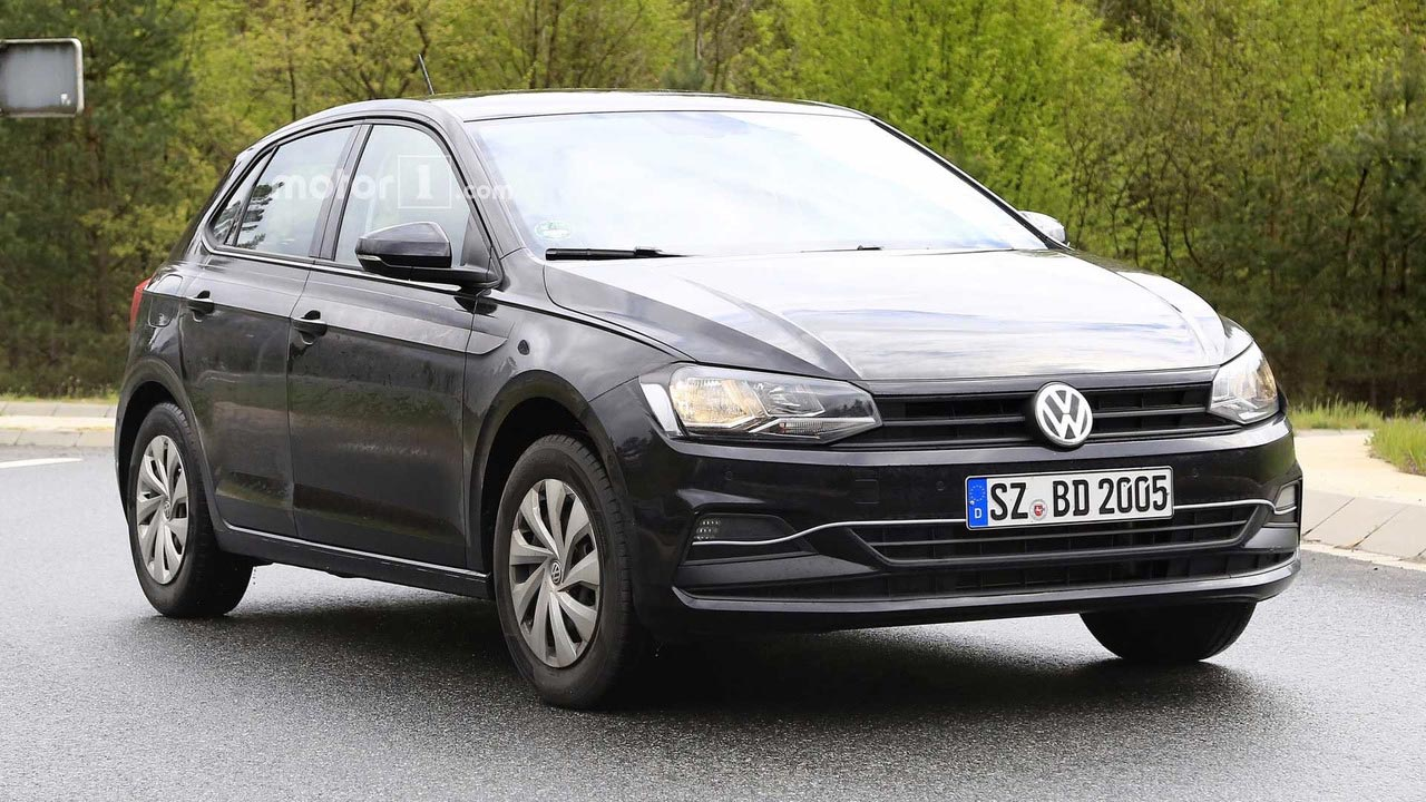 VW Polo 2018 espía