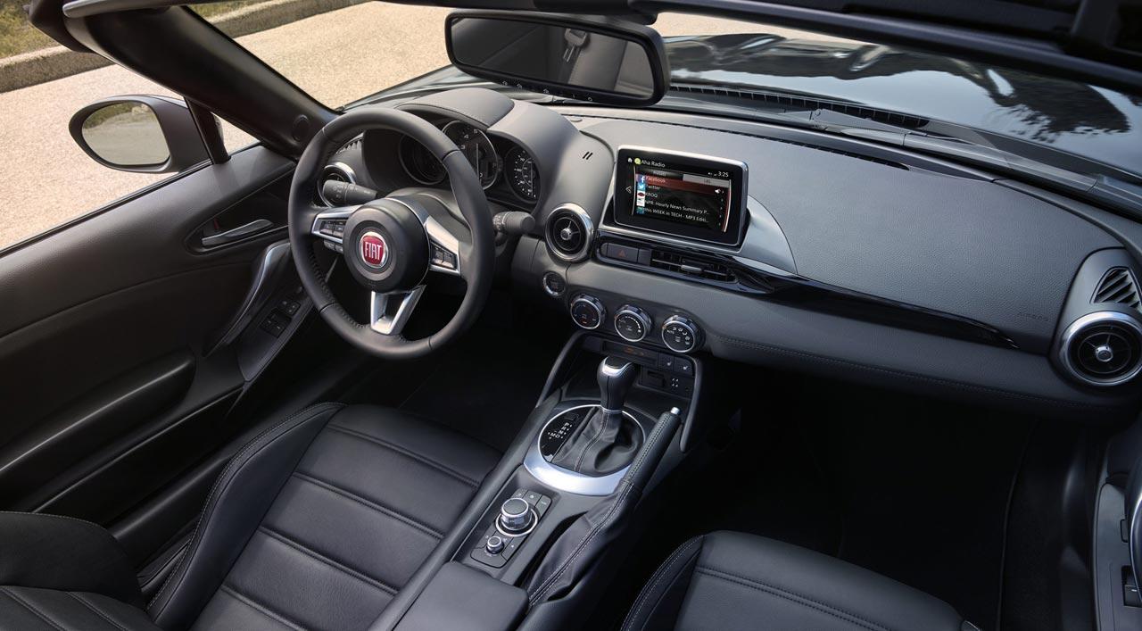 Interior Fiat 124 Spider