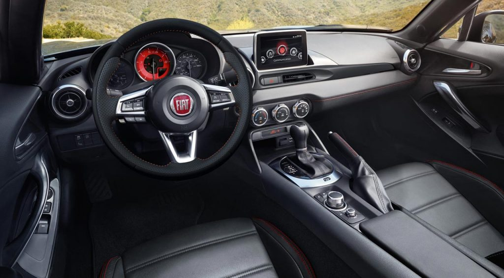 fiat  spider  interior mega autos