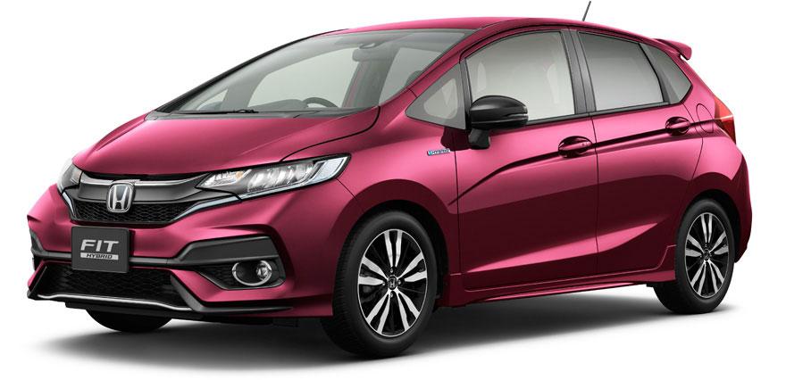 Honda Fit 2018 facelift