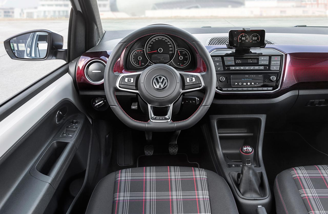 Interior Volkswagen Up GTI
