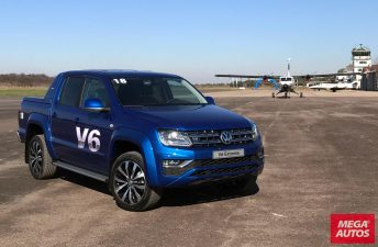 Volkswagen Amarok V6, a la venta en Argentina