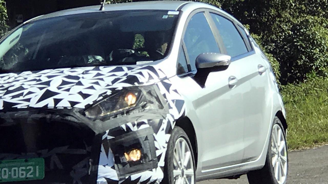 Nuevo Ford Fiesta Brasil espía