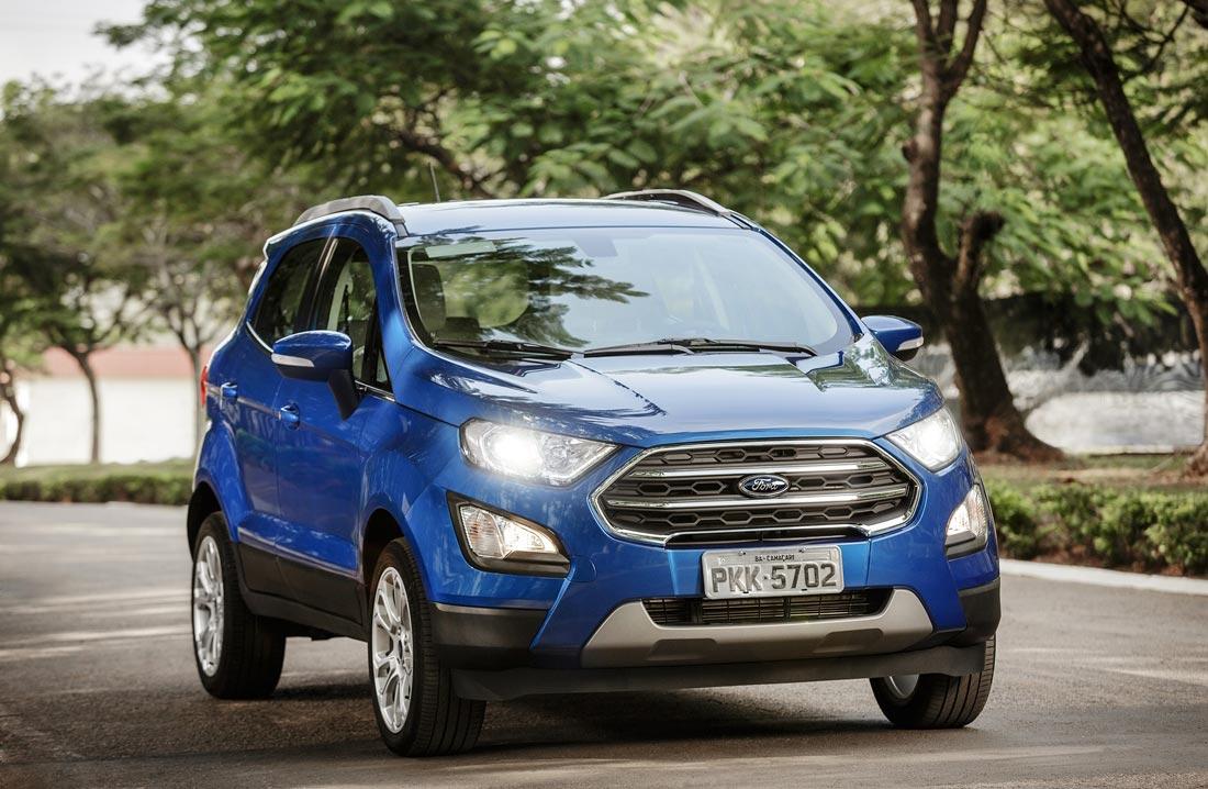 Más sobre la renovada Ford EcoSport, que llega en septiembre