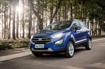 La renovada Ford EcoSport va tomando forma en Argentina